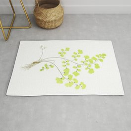 Maidenhair Fern Rug