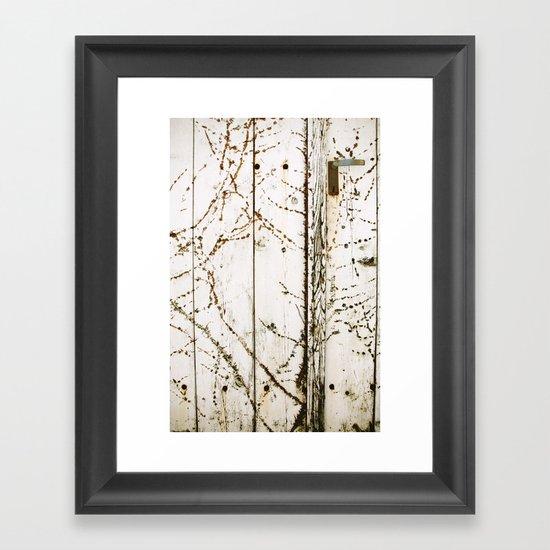 closed#03 Framed Art Print