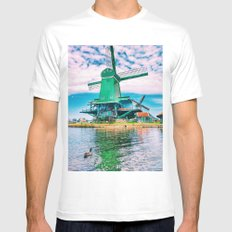 old and beautiful  MEDIUM Mens Fitted Tee White
