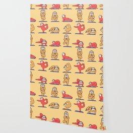 Sloth Yoga Wallpaper