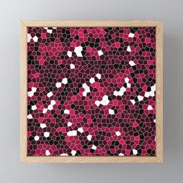 Ruby Polycamo Framed Mini Art Print