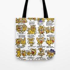 Happy Hyena Dance Tote Bag