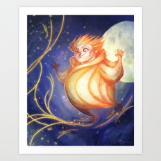 Yellow Dreams - Sandy Art Print