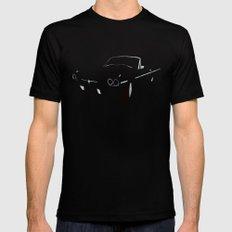 1966 Ford Thunderbird Black MEDIUM Mens Fitted Tee