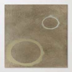 Two Circles - Modern Art - Abstract - Fine Art - California Cool - Popular Painterly Canvas Print