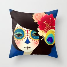 La Muertita ~ Candy Flavoured Throw Pillow