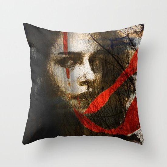 it's all in my head Throw Pillow