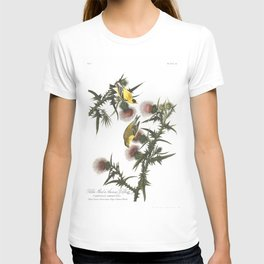 Goldfinch And Thistle T-shirt