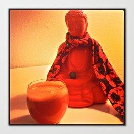 Carrots and Buddha Canvas Print