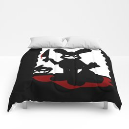 Bloody Rabbit Halloween version Comforters