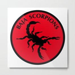 Baja Scorpions Metal Print