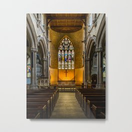 St Lawrence Hungerford Metal Print