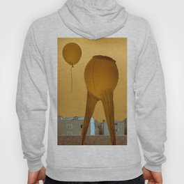 """Surrealist composition """"Parting"""" Hoody"""