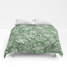 Irish Lace Comforters
