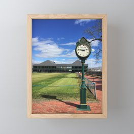 Hall of Fame Time Framed Mini Art Print