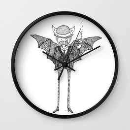 Watson the Bat Wall Clock