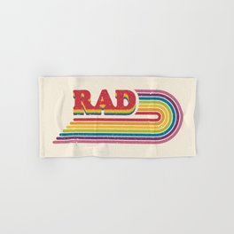 Rad Rainbow Hand & Bath Towel