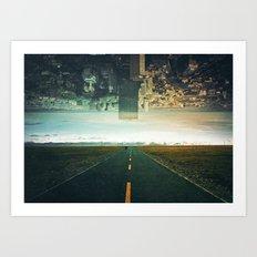 Roads Ahead Art Print