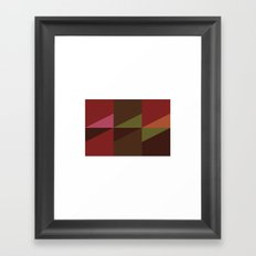 #534 Fencing – Geometry Daily Framed Art Print