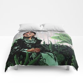 FRIDA and THURST Comforters