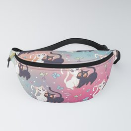 Luna  e Artemis Pattern New Version Fanny Pack