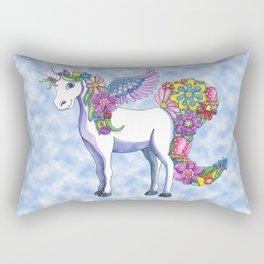 Madeline the Magic Unicorn 2 Rectangular Pillow