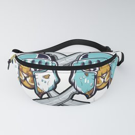 knight Cat furniture Design by diegoramonart Fanny Pack