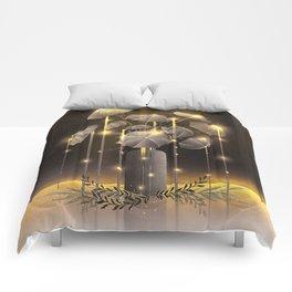 Rain Flower Comforters