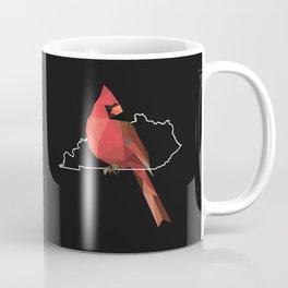 Kentucky – Northern Cardinal (Black) Coffee Mug