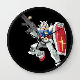 8-bit Gundam Wall Clock
