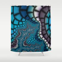 egyptian Shower Curtains featuring Egyptian Goddess by Christy Leigh