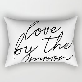 Live by the sun love by the moon (2 of 2) Rectangular Pillow