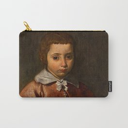 "Diego Velázquez ""Portrait of a Girl in Prayer"" or ""The Virgin Mary as a Child"" Carry-All Pouch"