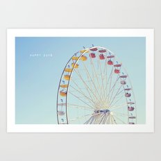Happy Days Art Print