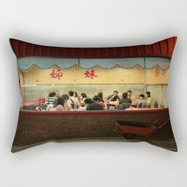 COMO UNA CARRETILLA ABANDONADA EN EL NORTE DE TAIWAN Rectangular Pillow