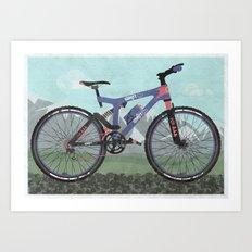 Mountain Bike Art Print