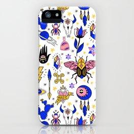 Magic pattern no1 iPhone Case