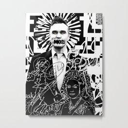 St. Moz Metal Print