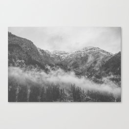 Moody clouds 2 Canvas Print