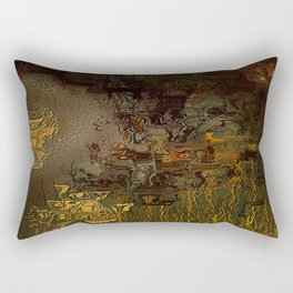 Swollen Years of Time Rectangular Pillow