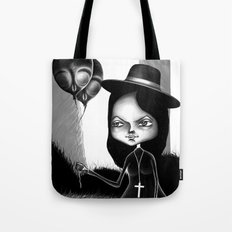 Ride on Lawn Tote Bag