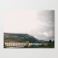 Cargo Train Canvas Print
