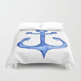 Dreaming of nautical adventure Duvet Cover