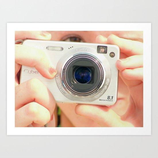 Photograph of a Photographer Art Print
