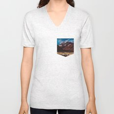 South Island Glacier Unisex V-Neck
