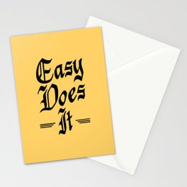 Easy Does It Stationery Cards
