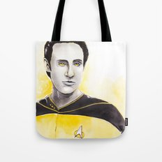 Lieutenant Commander Data Tote Bag