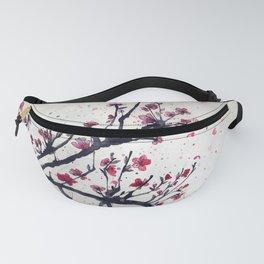 Sakura Sakura watercolour Fanny Pack