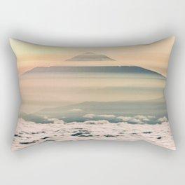 The West is Burning - Mt Hood Rectangular Pillow