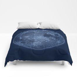 Dark Side of the Moon - Painting Comforters
